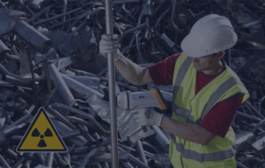 Радиационный контроль и контроль взрывобезопасности лома и отходов черных и цветных металлов